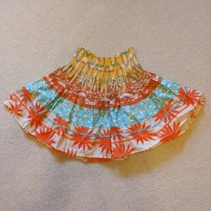 Fun short skirt. Multi color.